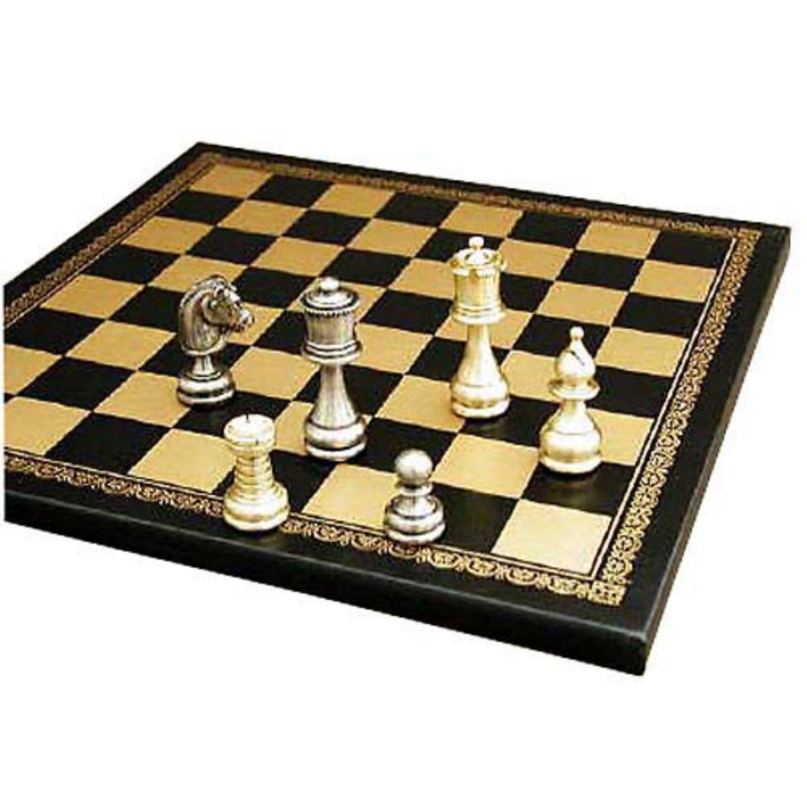 Large Staunton Chess Set by