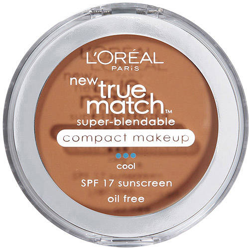 L'Oreal Paris True Match Super Blendable Compact Makeup with SPF 17