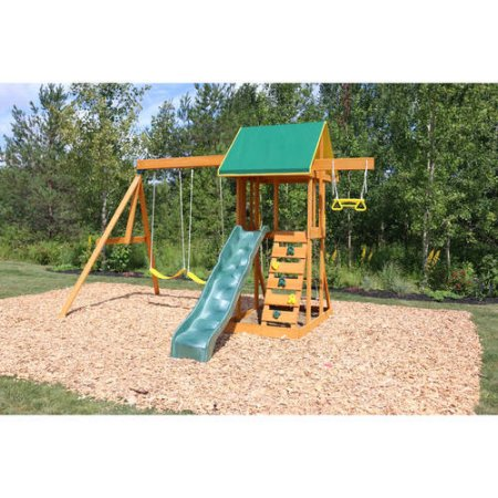 Big Backyard Meadowvale II Wooden Swing Set