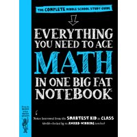 Everything You Need to Ace Math in One Big Fat Notebook - Paperback