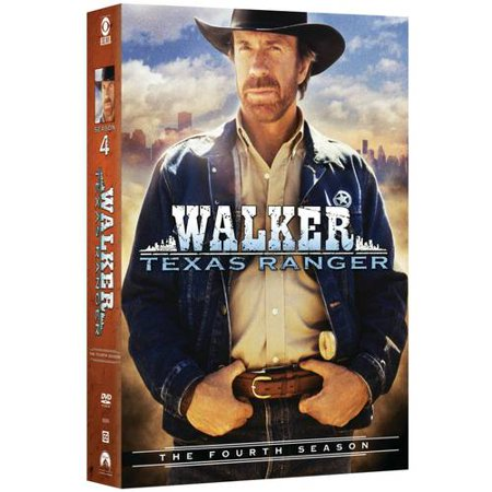 Walker Texas Ranger The Fourth Season Dvd Walmart Com