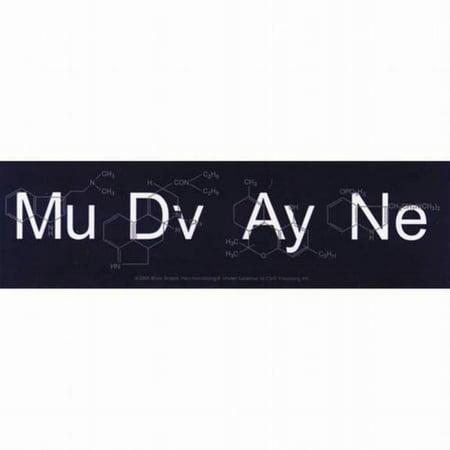 Mudvayne - Molecules - Decal