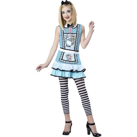alice in wonderland alice girls teen halloween costume - Teen Halloween Outfits