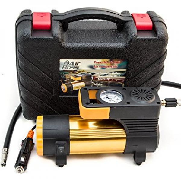 NEW! Portable Tire Inflator - Powerful 12V Air Compressor...