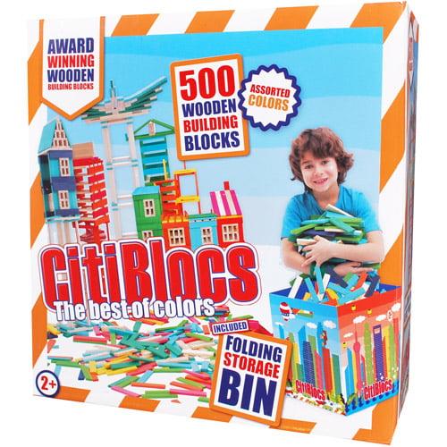 CitiBlocs 500-Piece Multicolor Building Blocks