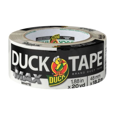 Duck Tape Brand Max Strength 1.88 In. x 20 Yd. Duct Tape, White for $<!---->