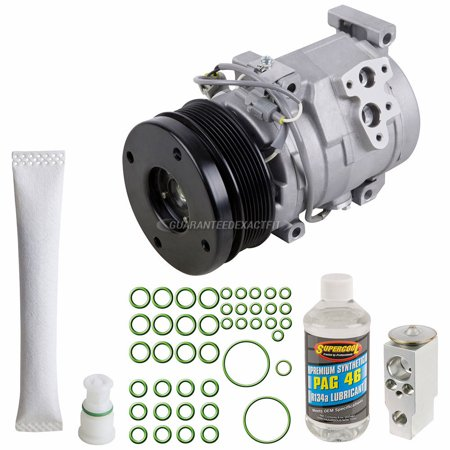 - AC Compressor w/ A/C Repair Kit For Toyota Tundra 2007 2010 2011 2012 2013 2014