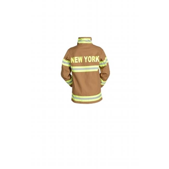 Aeromax FB-NY-AD-SM Adult Fire Fighter New York Suit Small Black by Aeromax