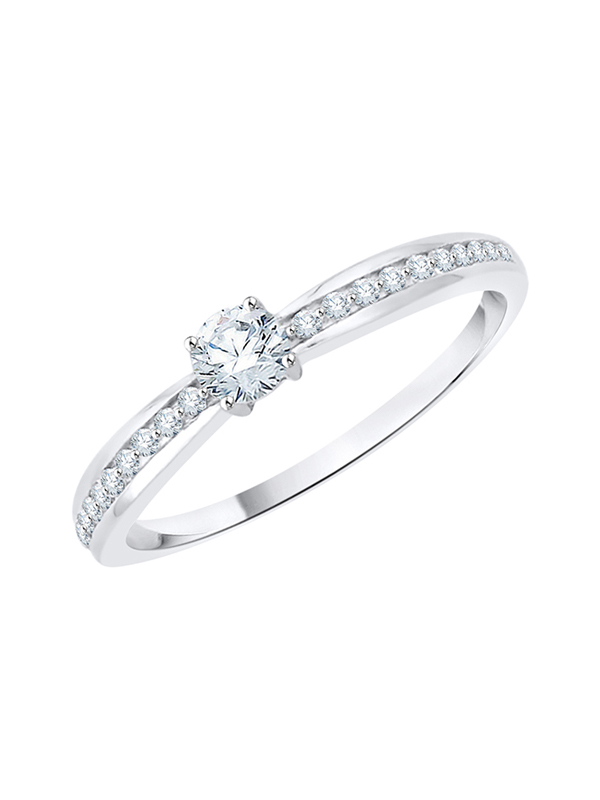 Diamond Wedding Band in 10K Yellow Gold G-H,I2-I3 Size-9.75 1//10 cttw,