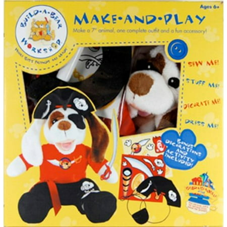 Build a Bear Make and Play PIRATE PUPPY