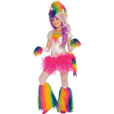 Rainbow Unicorn Kids Costume S (Unicorn Child Costume)