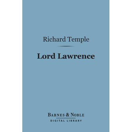 Lord Lawrence (Barnes & Noble Digital Library) - eBook