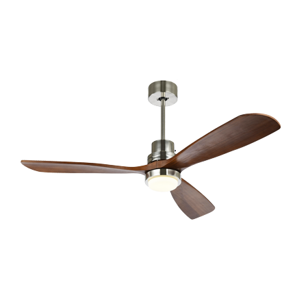 52 Ceiling Fan With 3 Color Changed Led Light Timing Function Sd