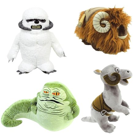 Star Wars Creatures Plush Set: Jabba the Hutt, Wampa, Bantha, & Tauntaun - Jabba The Hutt Pet