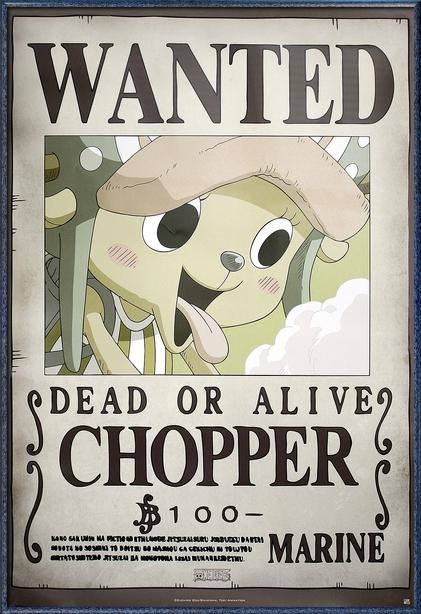 One Piece - Framed Manga / Anime TV Show Poster / Print ...