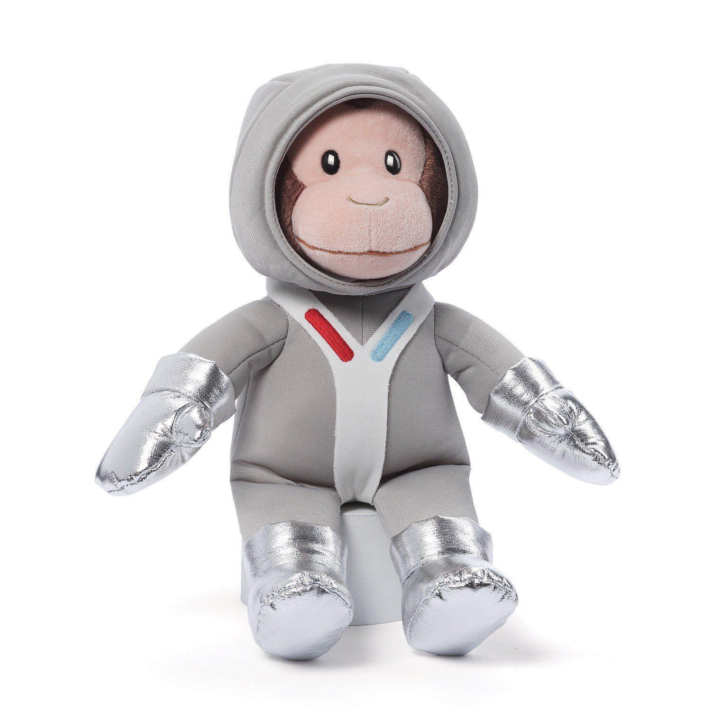 Curious George Astronaut 14 inch Stuffed Animal by GUND (4050485) by Gund