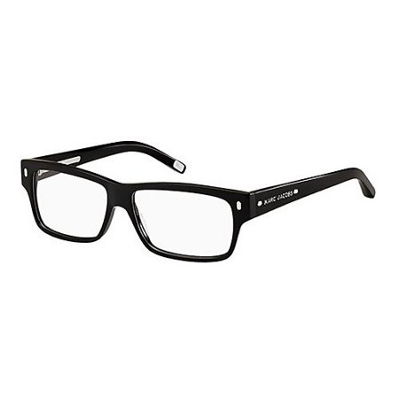 Marc Jacobs 264 Shiny Black Frame Plastic Eyeglasses, (See Through Eyeglass Frames)