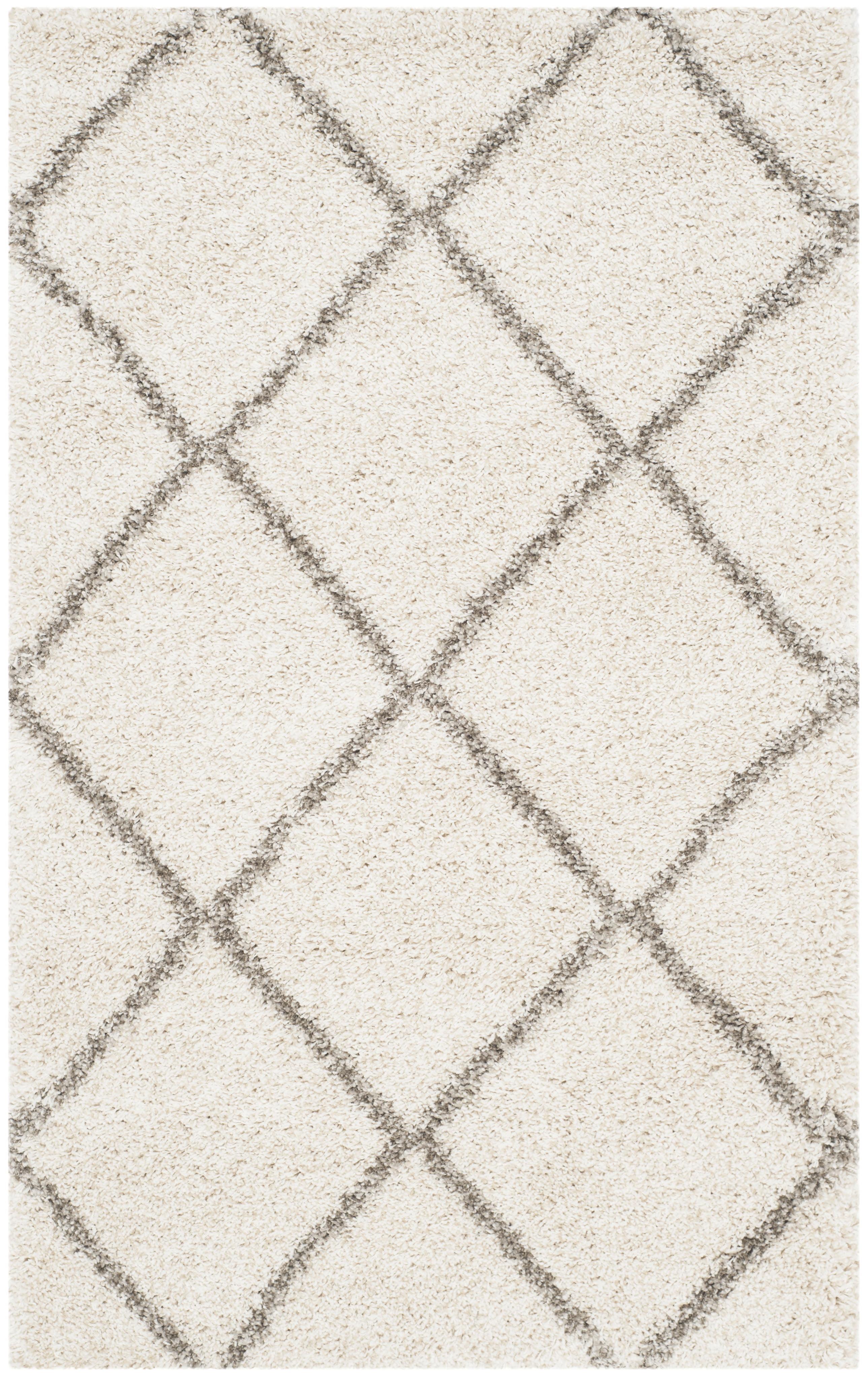 Safavieh hudson amias geometric shag area rug or runner walmart dailygadgetfo Image collections