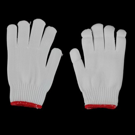 Construction Cotton Blends Non Slip Knitted Working Gloves
