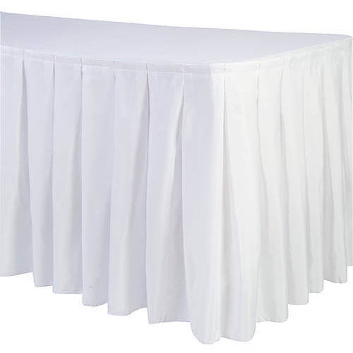 Shindigz Accordion Polyester Table Skirt, - Tutu Table Skirt For Sale