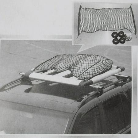 "Car Cargo Fuel Tank Rear Luggage Swing Elastic Mesh Net Transit 47"" x 24"" - image 1 of 3"