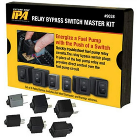 Fuel Pump Relay Bypass Master Kit Innovative Products of America 9038 IPA