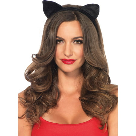 Velvet Cat Ears Costume Accessory