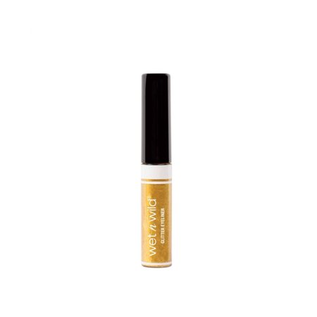 Halloween 2017 Fantasy Makers Glitter Eyeliner - Gold #12944, 0.16 Oz, Add extra bling to your Halloween or night time glam look. By Wet n Wild From USA - Halloween Night Club London 2017
