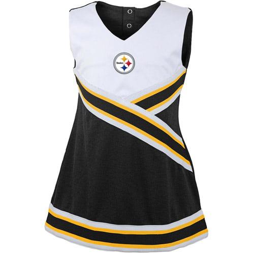 NFL Girls' Pittsburgh Steelers Cheerleader