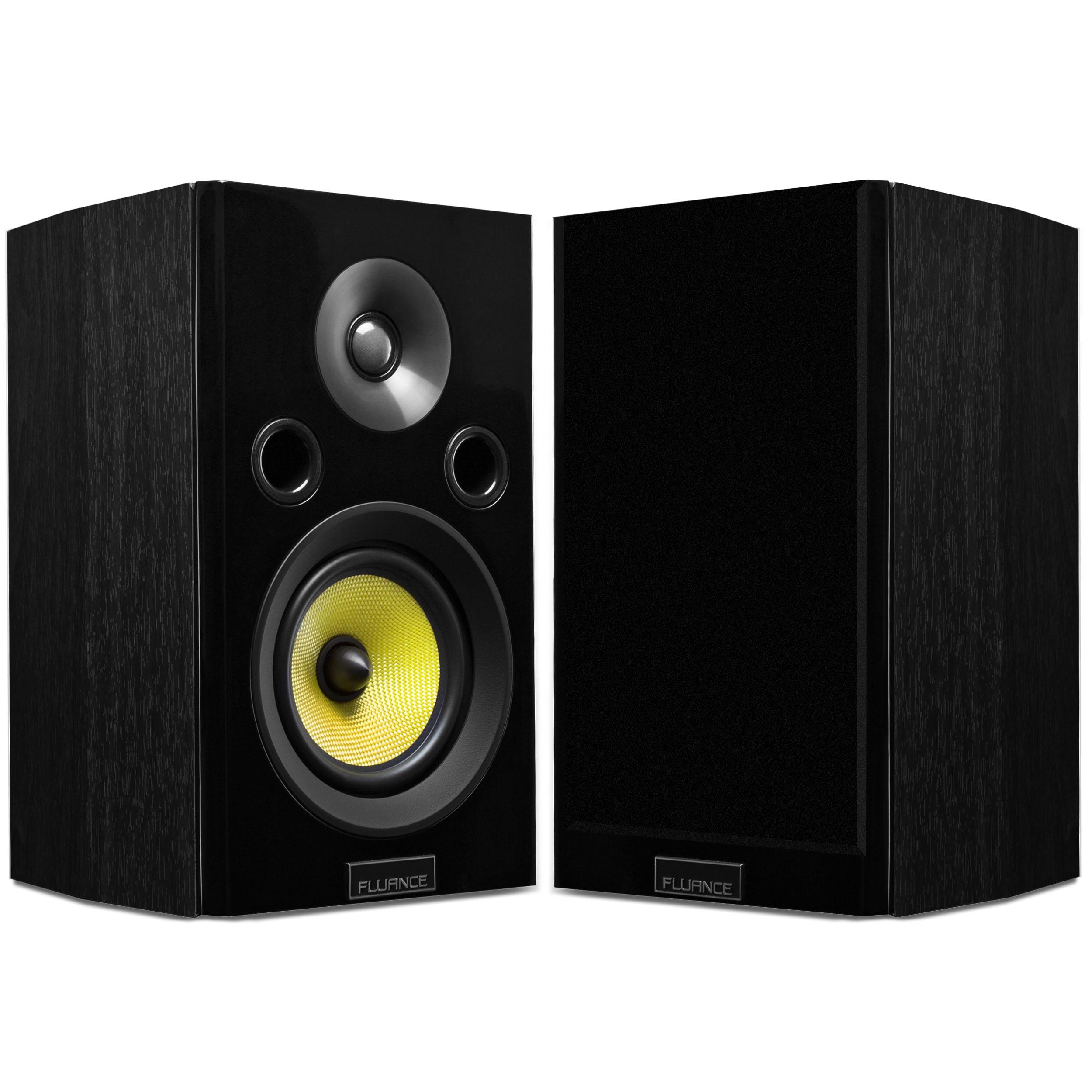 Fluance Signature Series HiFi Two-way Bookshelf Surround Sound Speakers for Home Theater and Music Systems... by Fluance