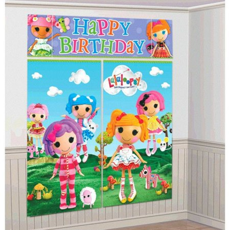 LaLaLoopsy Giant Scene Setter Wall Decorating Kit - Paparazzi Scene Setter