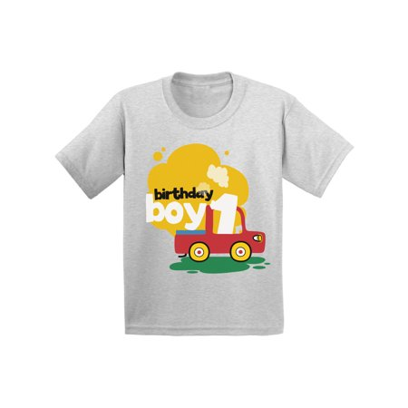 7598def3dbab Awkward Styles Birthday Boy Infant Shirt Toy Truck Tshirt for Baby 1st  Birthday Party Truck Gifts for 1 Year Old Baby Boy First Birthday Party  Outfit ...
