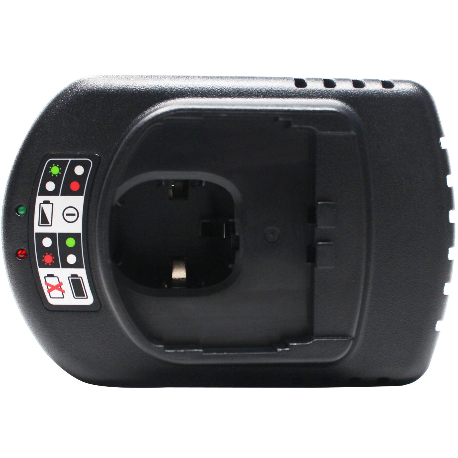 2-Pack - Ryobi P510 Battery + Universal Charger for Ryobi Replacement - For Ryobi 18V Power Tool Battery and Charger (1300mAh, NICD) - image 3 de 4