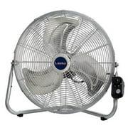 Lasko Max Performance 20 Inch Industrial High Velocity Floor or Wall Mount Fan