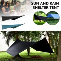 Waterproof Outdoor Camping Tents Outdoor Parasol Camping Hammock Hammock Rain Fly Tent Tarp for Snow Camping Outdoor Travel