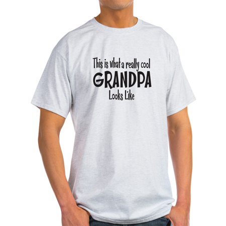 CafePress - This Is What A Really Cool Grandpa Looks Like T-Sh - Light T-Shirt - CP