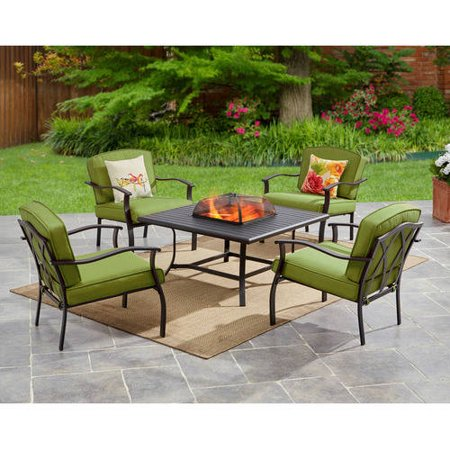 Mainstays Belden Park 5-Piece Fire Pit Set $249