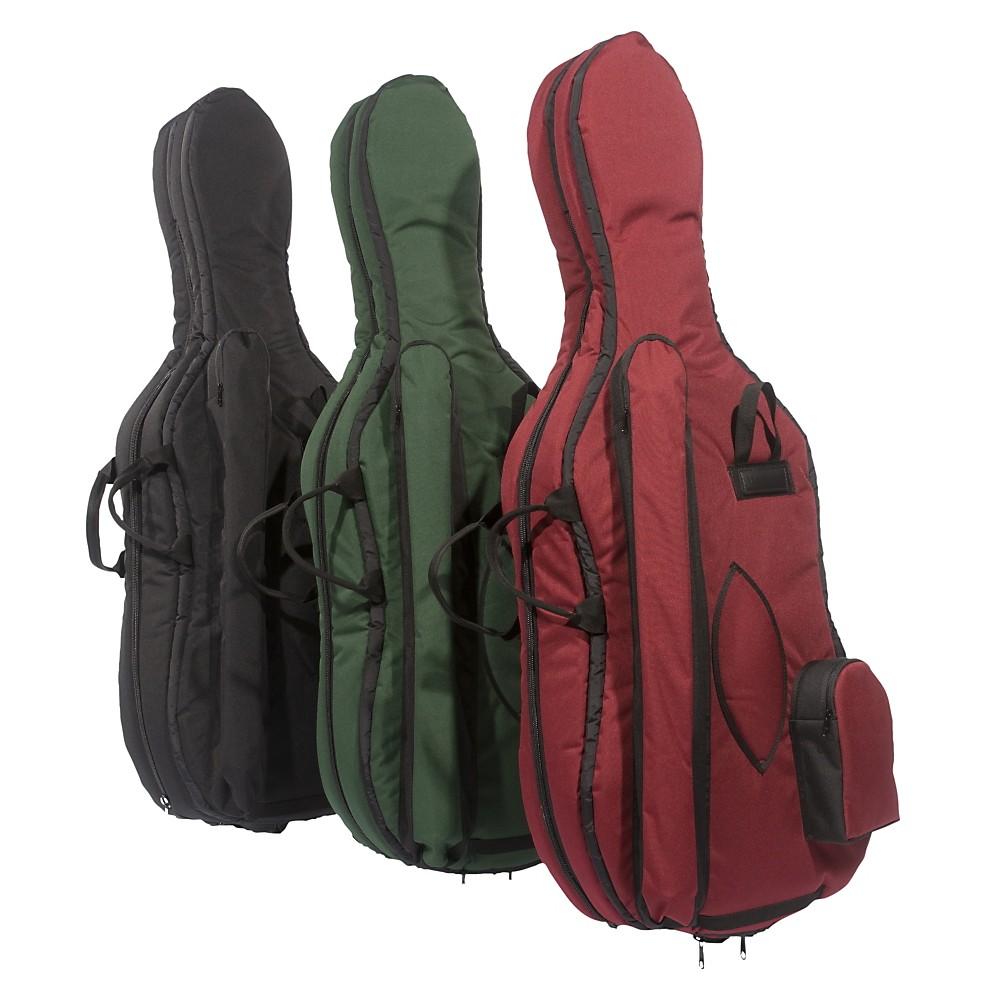 Mooradian Deluxe Cello Bag 4/4 Burgundy