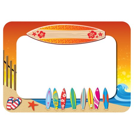 SURFS UP NAME TAGS LABELS SURFS UP NAME TAGS LABELS
