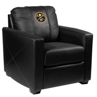 Denver Nuggets NBA Silver Chair with Primary Logo Panel