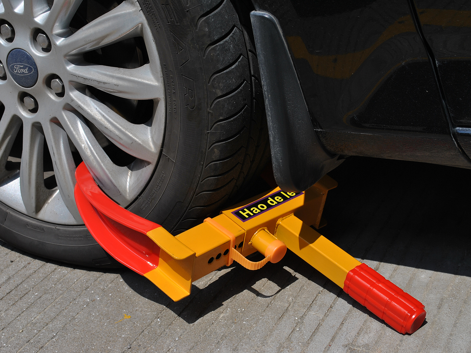 Costway Wheel Lock Clamp Boot Tire Claw Auto Car Truck Rv Boat