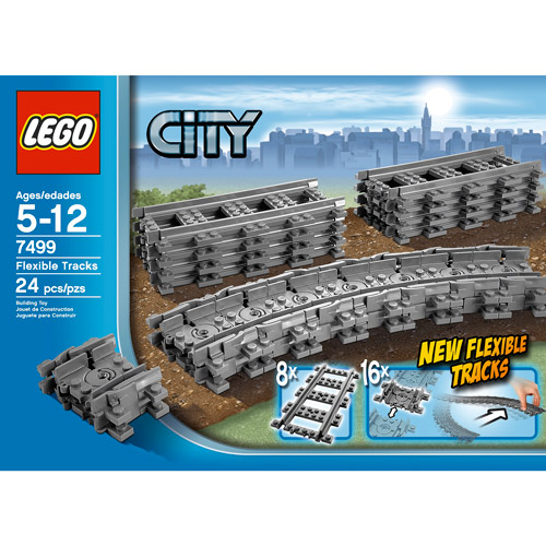 LEGO City Flexible Tracks Set