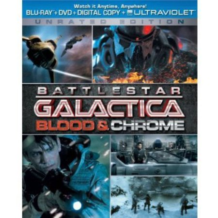 Battlestar Galactica  Blood   Chrome  Blu Ray   Dvd   Digital Copy   Unrated   With Instawatch   Widescreen