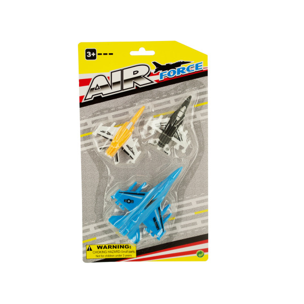 Jet Fighter Planes Set (Pack Of 24) by Bulk Buys