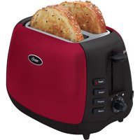Oster 2-Slice Toaster, Metallic Red