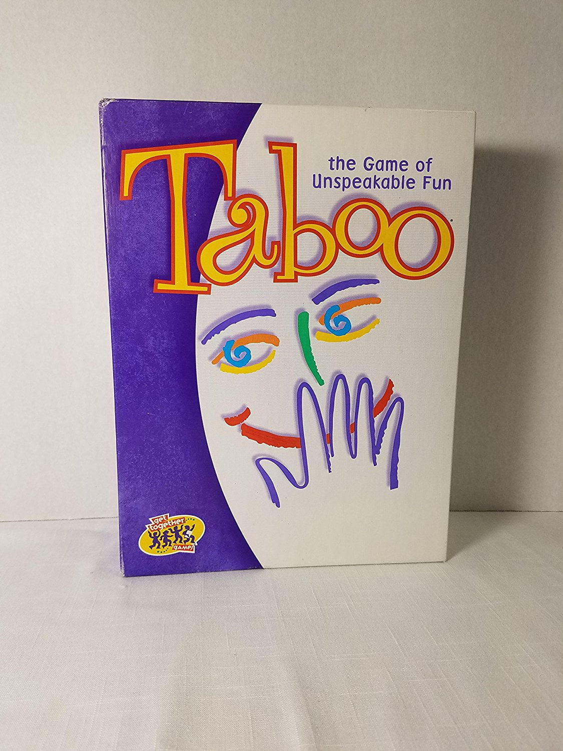Taboo the Game of Unspeakable Fun (2000 Edition), For Adult By Milton Bradley Ship from US by
