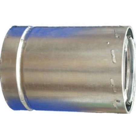 Airjet 6S1 6-Inch All-Fuel Triple Wall Chimney Pipe ()
