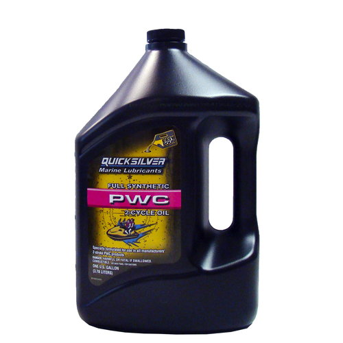 Mercury Quicksilver Marine PWC Full Synthetic 2-Cycle Oil