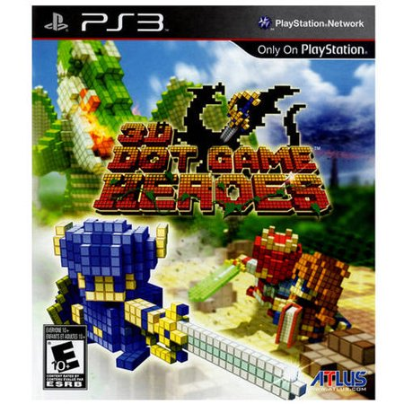 3D Dot Game Heroes (PS3) - Pre-Owned