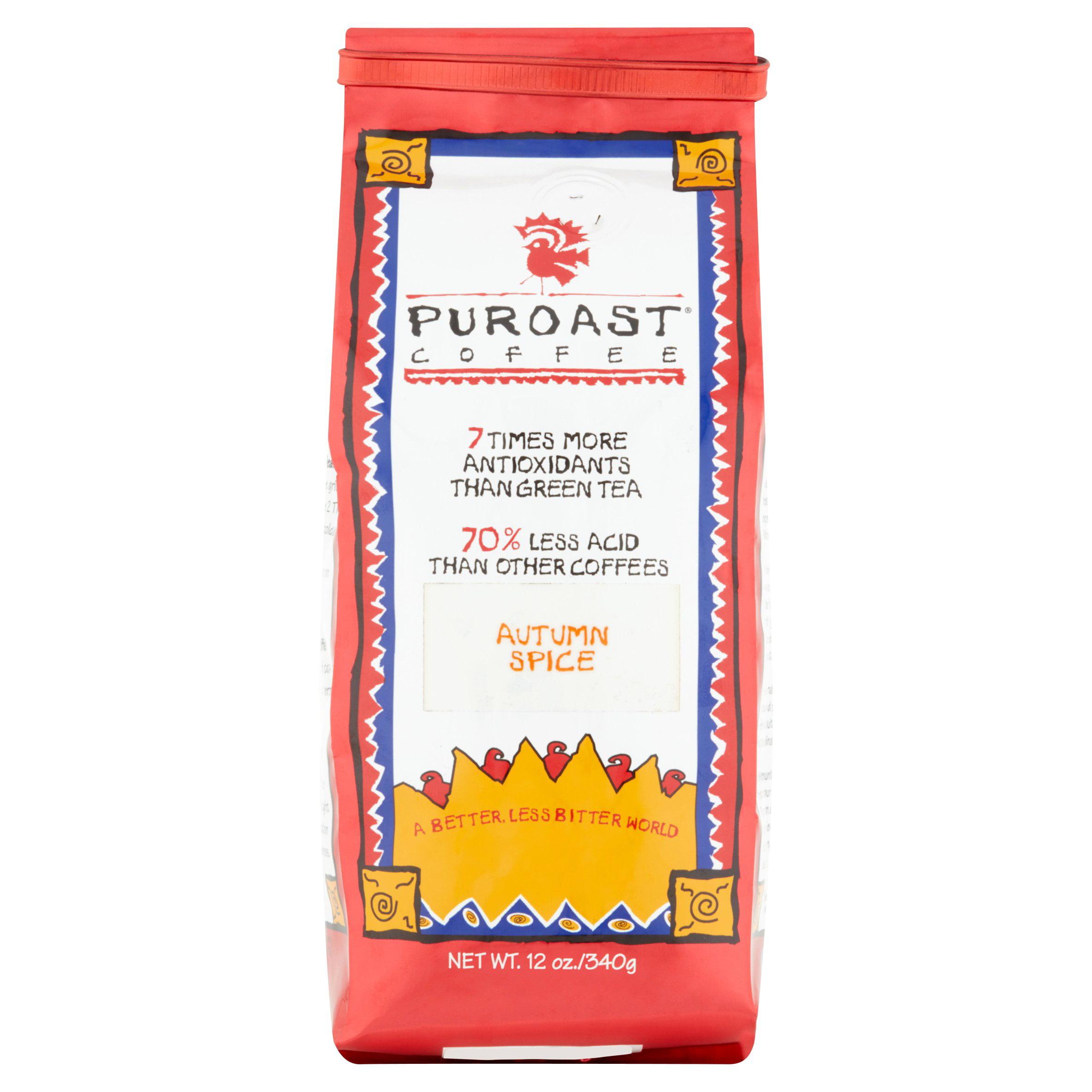 Puroast Coffee Autumn Spice, 12 oz
